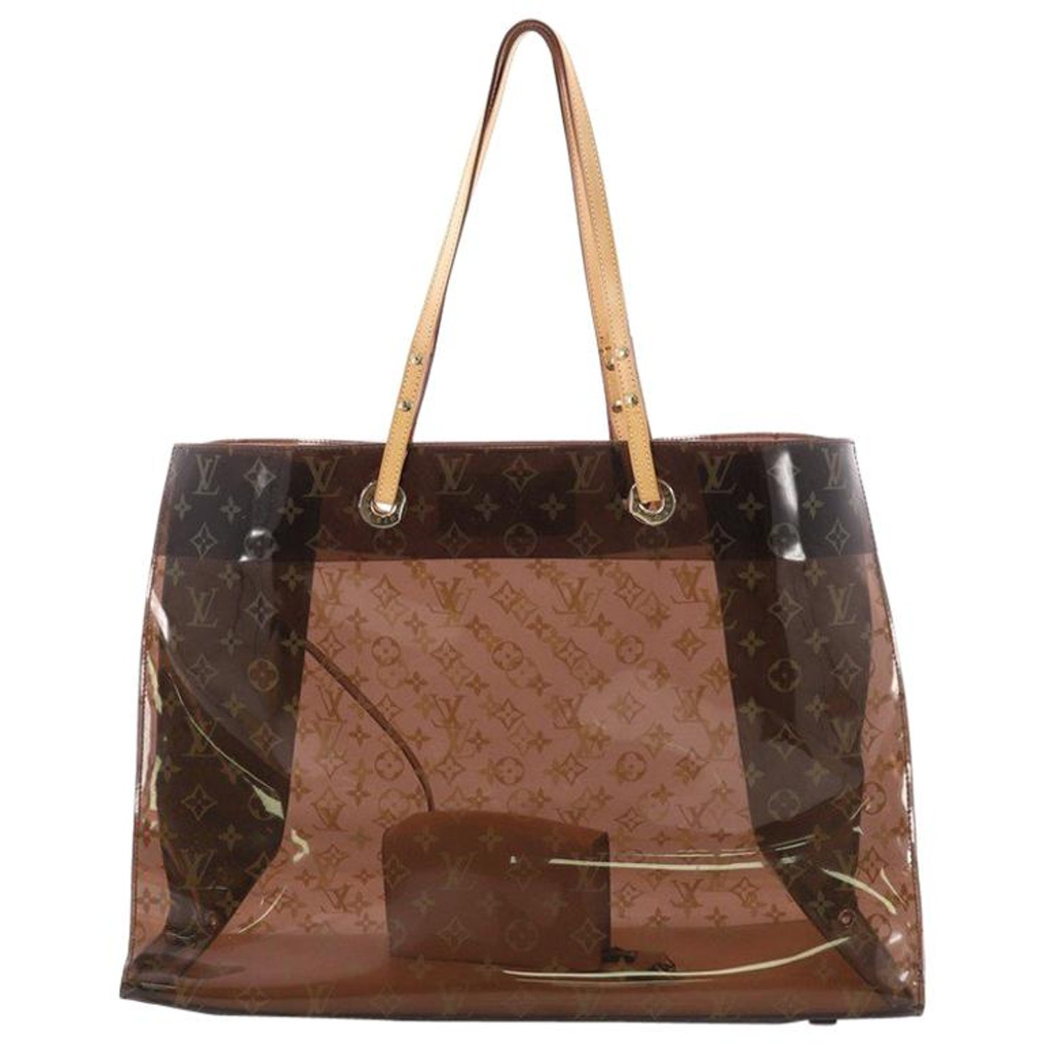 9d9ec43c2f76 Louis Vuitton Ambre Sac Cabas Monogram Vinyl GM at 1stdibs