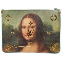 Louis Vuitton Jeff Koons Da Vinci Mona Lisa portrait wallet