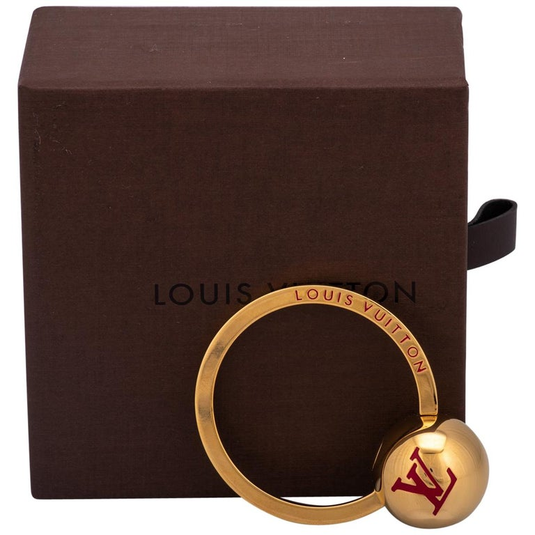 Louis Vuitton Gold Keychain Ring