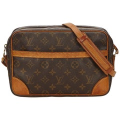 Louis Vuitton Brown Monogram Trocadero 27 Bag
