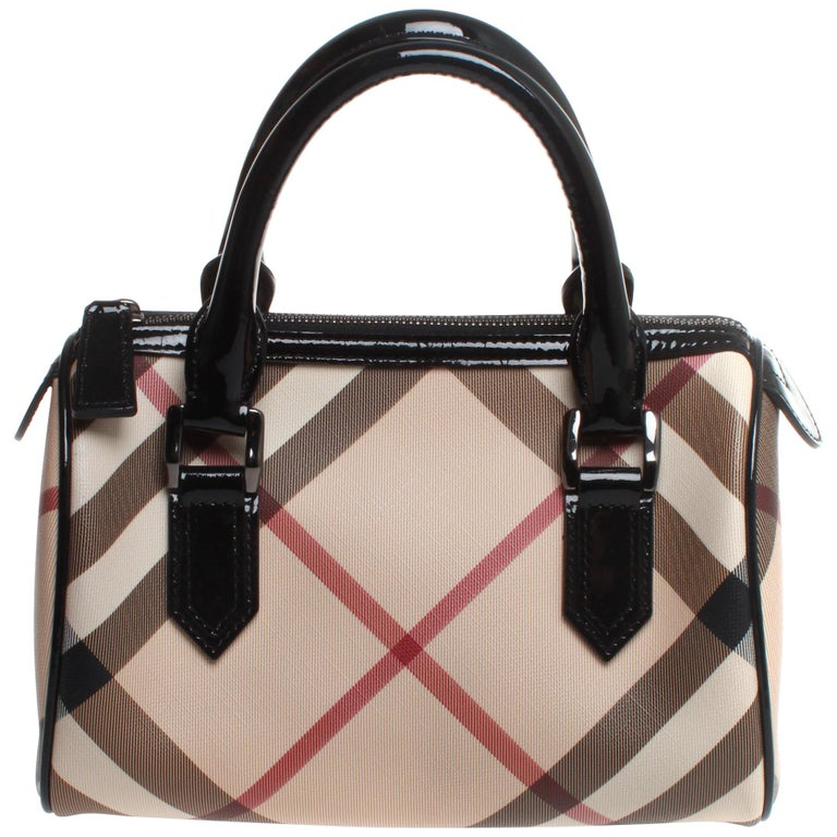 Burberry Chester Nova Check Top Handle Handbag at 1stdibs 3b1ac9d987b34