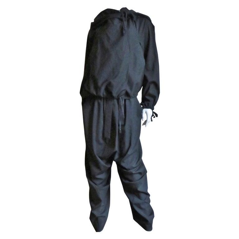 Vivienne Westwood Harem Drop Crotch Pants and Hoodie Jacket