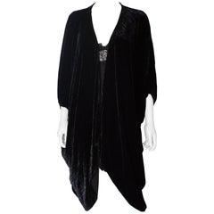 Vintage Hampstead Bazaar Silk Velvet Evening Jacket