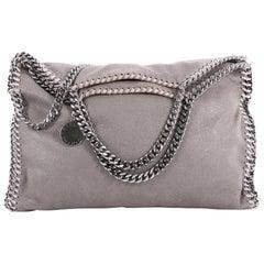 Stella McCartney Falabella Fold Over Bag Shaggy Deer