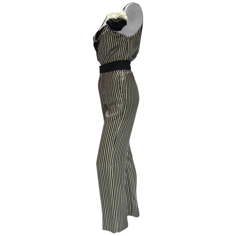 Lanvin Pin-Striped Ensemble  For Sale