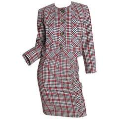 Valentino wool herringbone Suit