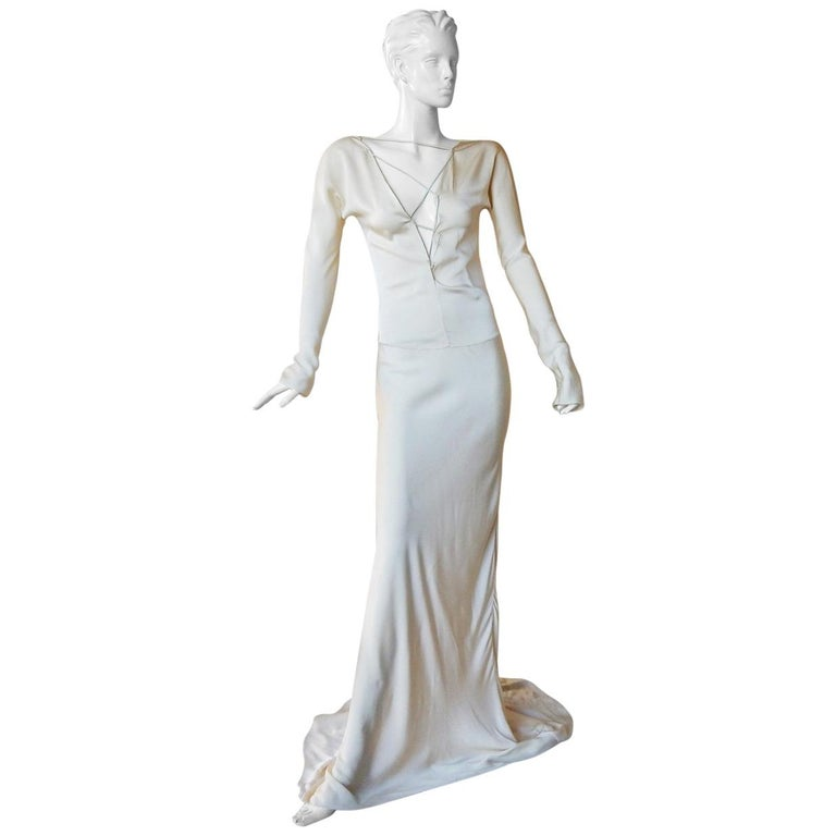 Gucci Tom Ford Sexy Siren Old Hollywood Glamour Gown Worn on Red Carpet  New! For Sale
