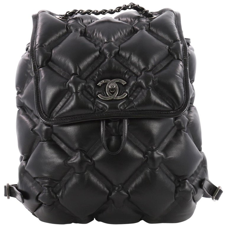32fb0ce91b75c5 Chanel Chesterfield Backpack Quilted Calfskin Medium at 1stdibs
