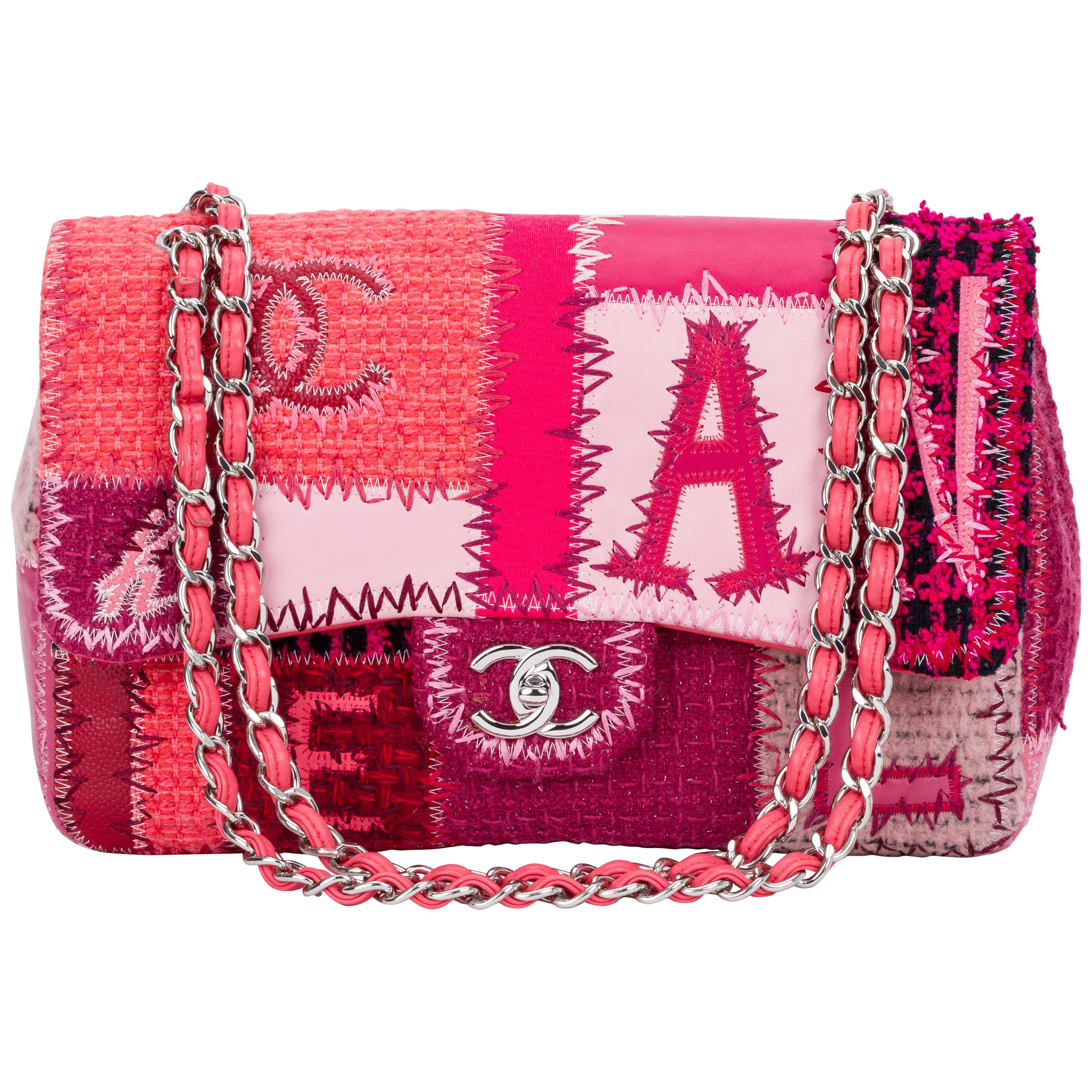 645b08bfb39a93 Pink Chanel Bags - 90 For Sale on 1stdibs