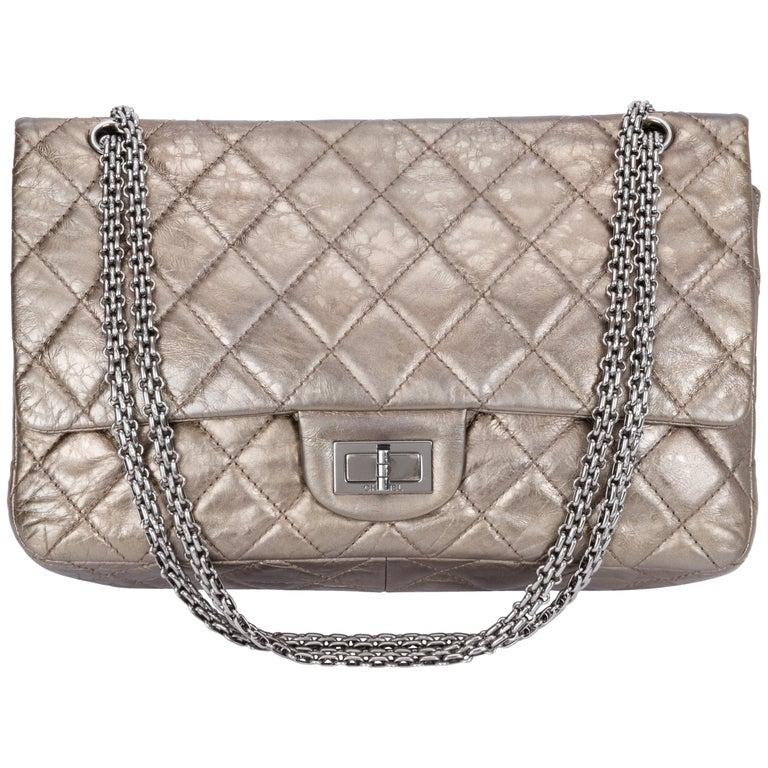 61f519faa851 Chanel Metallic Reissue Jumbo Flap Bag For Sale at 1stdibs