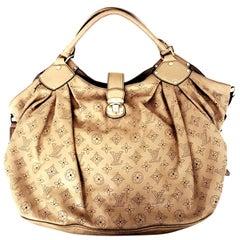 Louis Vuitton Mahina Hobo Taupe Bag