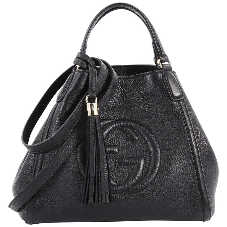 642fd3203 Gucci Soho Convertible Shoulder Bag Leather Small at 1stdibs