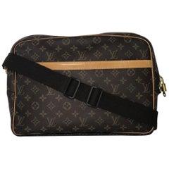 Louis Vuitton Monogram Reporter GM Messenger Crossbody Handbag f2c65b4032542