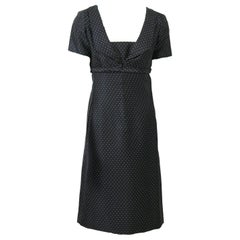 Christian Dior Boutique 1950s Polka Dot Day Dress