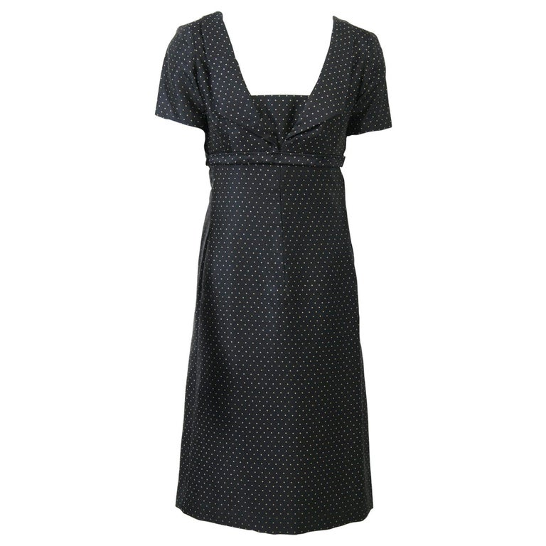 Christian Dior Boutique 1950s Polka Dot Day Dress