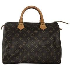 Louis Vuitton Monogram Speedy 30 Satchel Top Handle Handbag b968f908d12c9