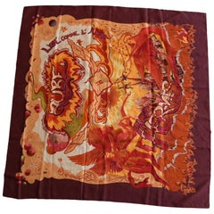 Hermes Aube Libre Comme L' Ange Scarf