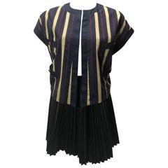 Chanel Vintage Striped Vest