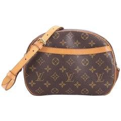 Louis Vuitton Blois Monogram Canvas Handbag