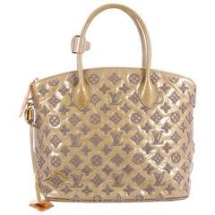 Louis Vuitton Fascination Lockit Patent Lambskin Handbag
