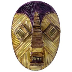 African Tiki Mask Pin by Cilea Paris