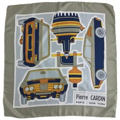 Pierre Cardin Silk Scarf AMC 1972 JAVELIN SST 360 Muscle Car