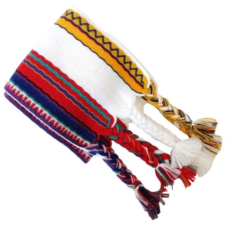 Christian Dior Woven Cotton Belt