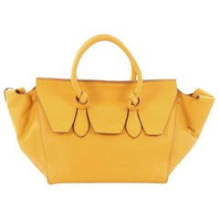 Celine Tie Knot Tote Grainy Leather Small