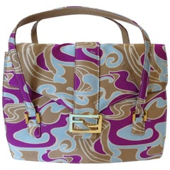 2000s Fendi Psychedelic Swirl Bag