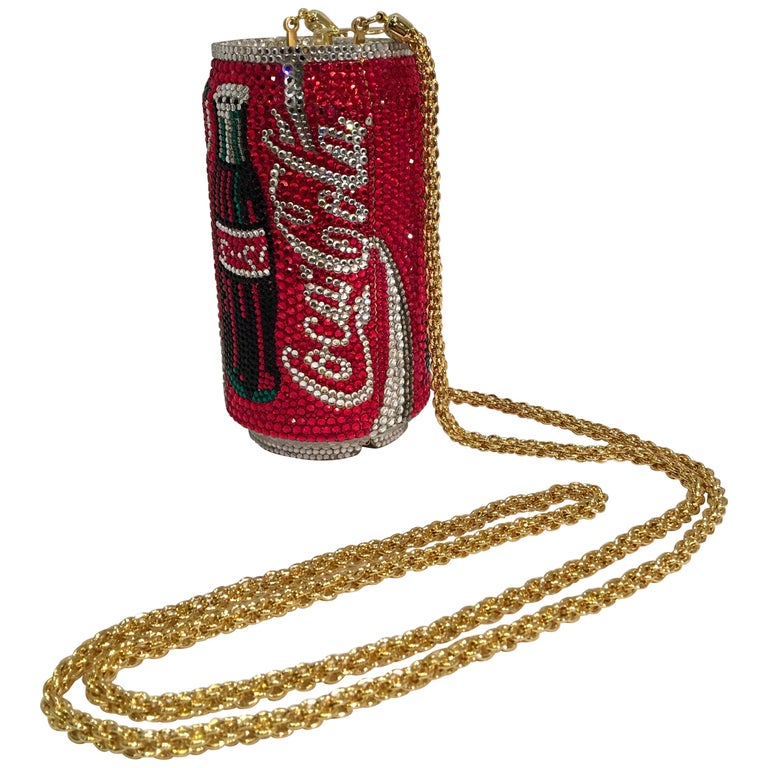 Kathrine Baumann Limited Edition Coca Cola Can Miniaudiere Evening Bag For Sale