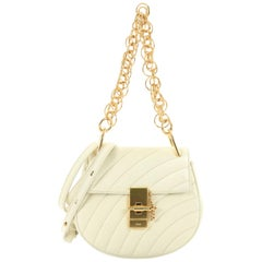 Chloe Drew Bijou Crossbody Bag Quilted Leather Mini