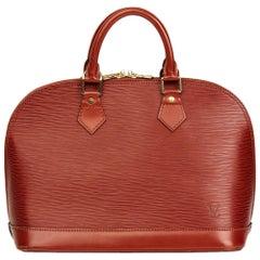 Louis Vuitton Kenyan Fawn Epi Leather Vintage Alma PM Bag, 1996