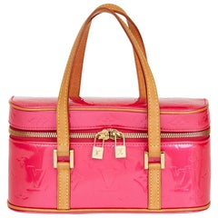 2003 Louis Vuitton Fuchsia Monogram Vernis Leather Sullivan Horizontal PM