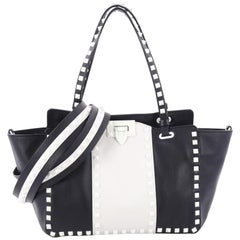 Valentino Free Rockstud Tote Soft Leather Small