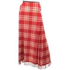 Jean Paul Gaultier Plaid Kilt Skirt Vintage