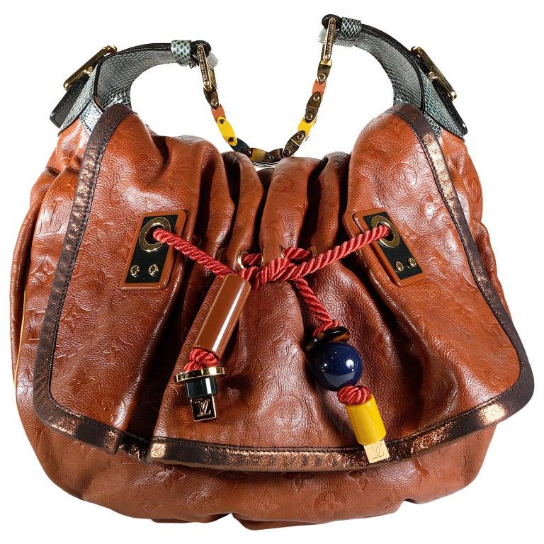Louis Vuitton Paprika Monogram Leather Kalahari GM- Limited Edition