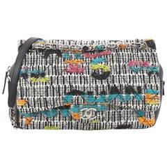 Chanel Easy Fantasy Flap Bag Quilted Multicolor Tweed Medium