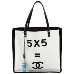 Chanel Let's Demonstrate Tote Canvas Small