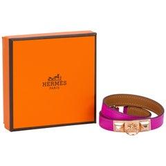New Hermes Magnolia Gold Double Bracelet