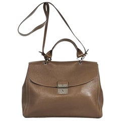 Brown Marc Jacobs Leather Satchel