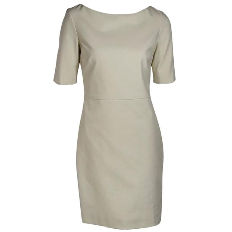 Ivory The Row Sheath Dress