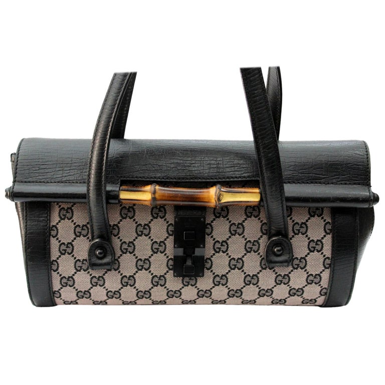 74c071e088e5 Gucci Bamboo Bullet Bag For Sale at 1stdibs