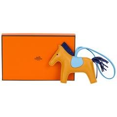New Hermes Grigri Rodeo Jaune D'Ambre Bag Charm