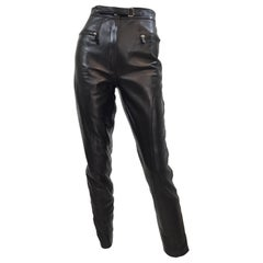 Tom Ford for Gucci Leather Pants 1990's