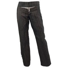 Jean Paul Gaultier Pinstriped Pants on Pants