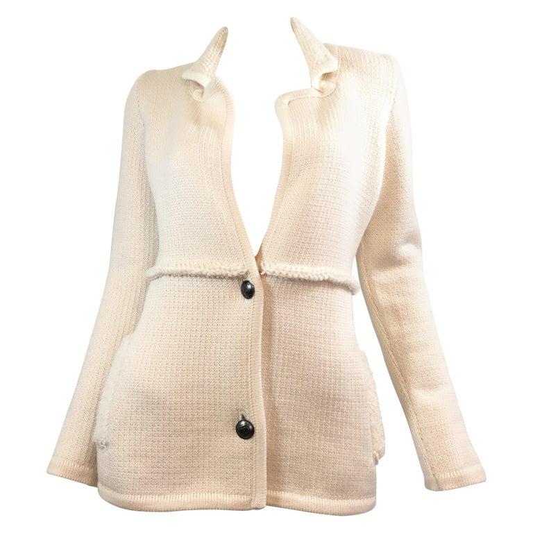 Chanel ID 2008 Knit Cardigan Sweater