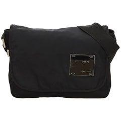 Fendi Black Nylon Crossbody Bag