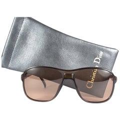 New Vintage Christian Dior Monsieur 2311 10 Optyl Grey 1970 Sunglasses