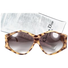 New Vintage Christian Dior 2230 10 Leopard Origami Optyl Sunglasses Germany