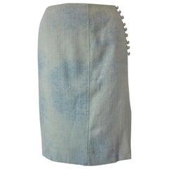 Vintage Christian Lacroix Silk Skirt